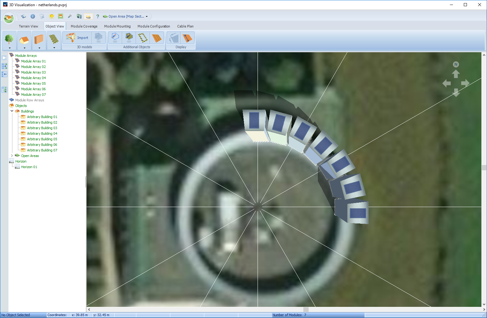 Round buildings - PV*SOL - Forum Valentin Software